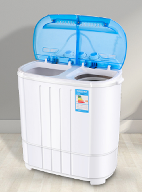 Máy giặt mini lồng giặt và lồng vắt riêng biệt