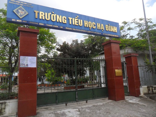 Trường Tiểu học Hạ Đình