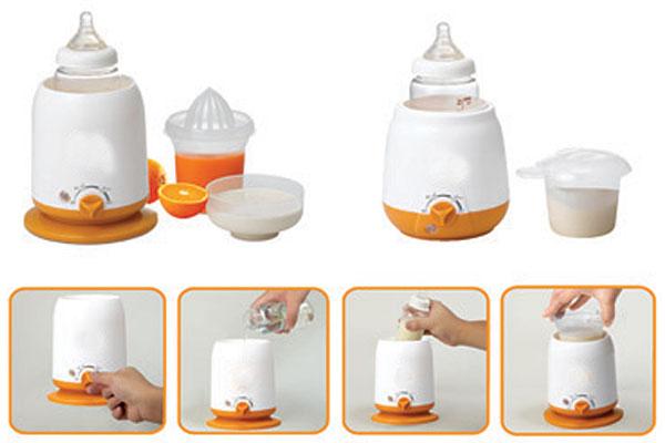 Cách sử dụng máy hâm sữa tôt nhất