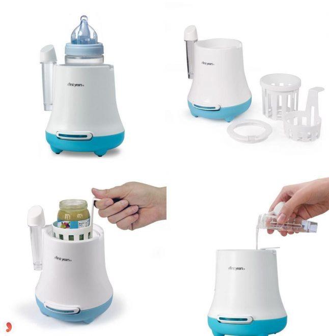 Cấu tạo máy hâm sữa