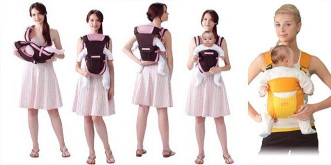 Địu Combi 4 tư thế thuận tiện cho mẹ trong từng giai đoạn phát triển của bé