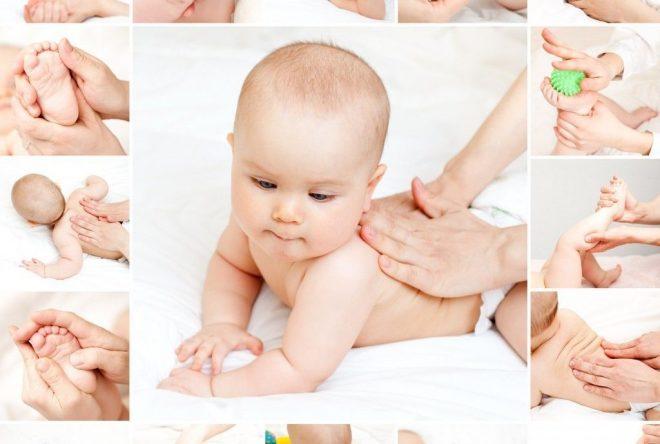 Mát-xa cho trẻ sơ sinh mang lại nhiều ích lợi tuyệt vời!