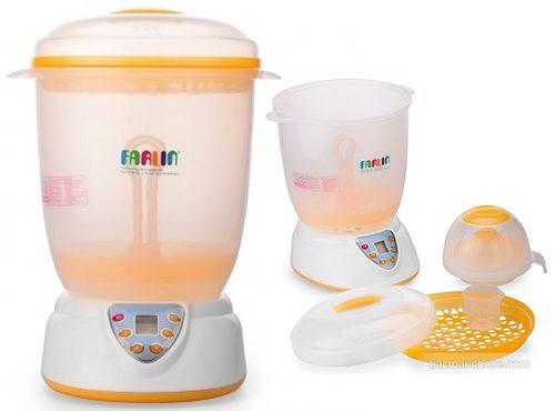 . Máy tiệt trùng bình sữa Farlin Top-214 bốn chức năng