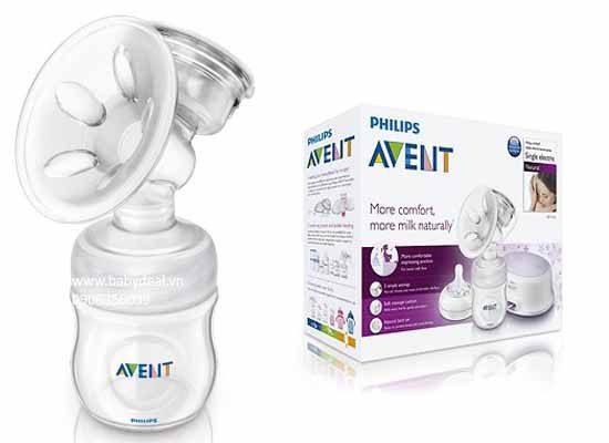 Máy hút sữa bằng pin/điện Philips Avent