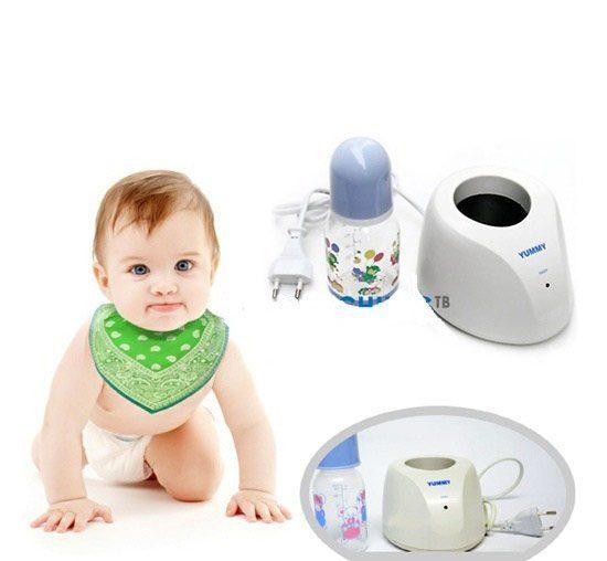 Sử dụng máy hâm sữa cho bé yêu