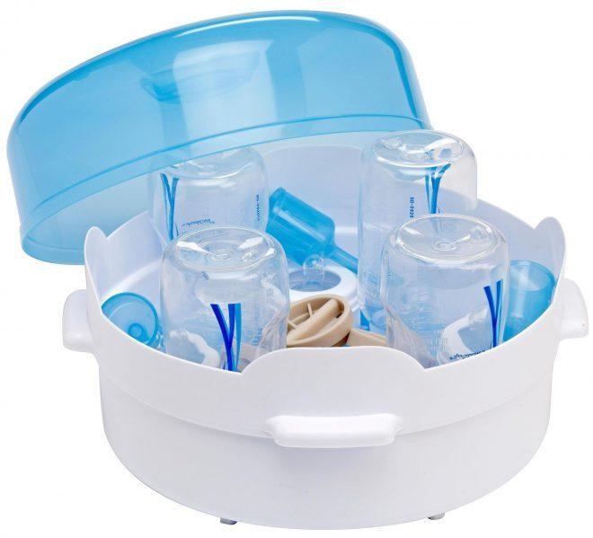 Sử dụng máy tiệt trùng bình sữa