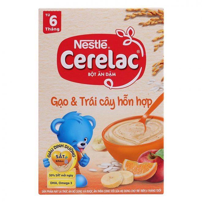 Bột ăn dặm Nestle Cerelac là một trong những sản phẩm chất lượng mà giá thành khá rẻ