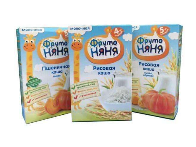 Bột ăn dặm Fruto xuất xứ Nga mang lại nhiều hương vị khác biệt