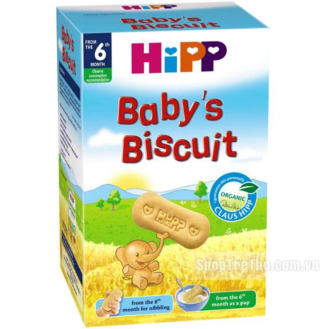 Bánh ăn dặm Hipp chất lượng đén từ Đức giúp bé phát triển