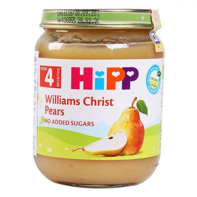 Dinh dưỡng đóng lọ lê William
