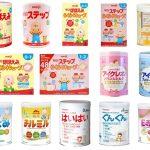 Top 5 loại sữa công thức tốt nhất cho trẻ dưỡi 1 tuổi hiện nay