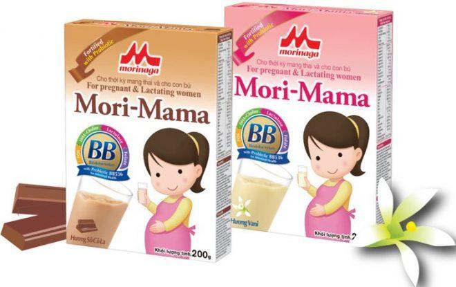 Sữa bầu Morimama