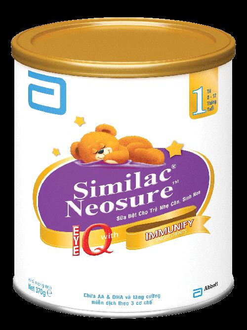 Sữa bột Similac Neosure IQ số 1 của Abbott