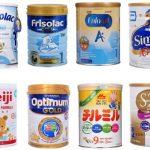 Top 5 sữa bột tốt nhất cho trẻ 6 tháng tuổi hiện nay