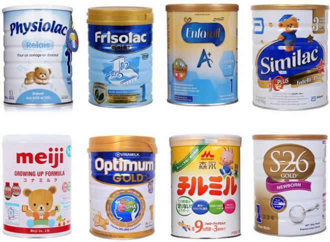 Sữa bột tốt nhất cho trẻ 6 tháng tuổi