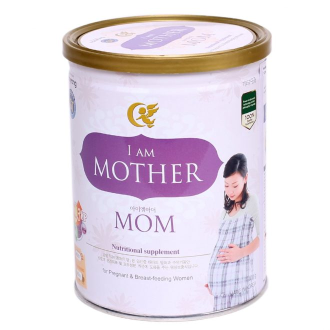 Sữa I am Mother Mom