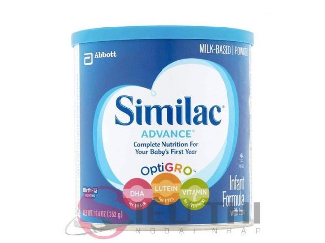 Sữa Similac của Mỹ