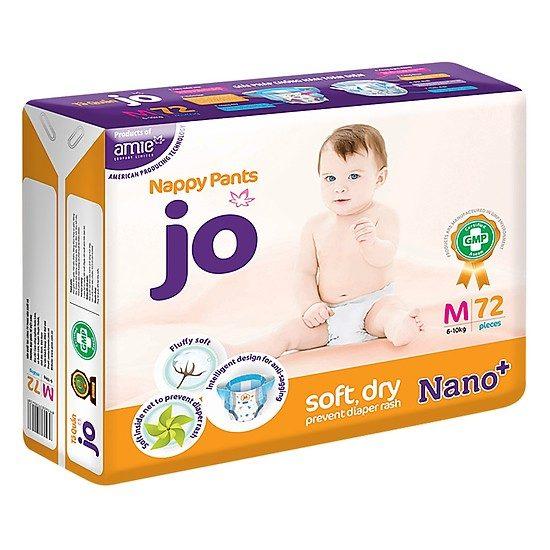 Tã quần JO, một sản phẩm chất lượng được nhiều mẹ biết đến