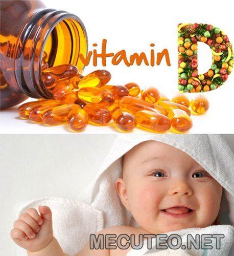 Vitamin D rất quan trọng đối với trẻ em