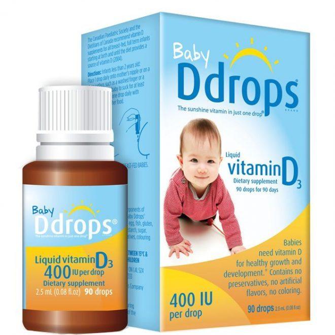 Vitamin D3 Baby drops