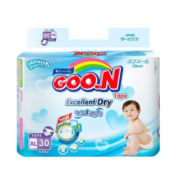 Tã giấy Goon sản phẩm tốt cho bé yêu