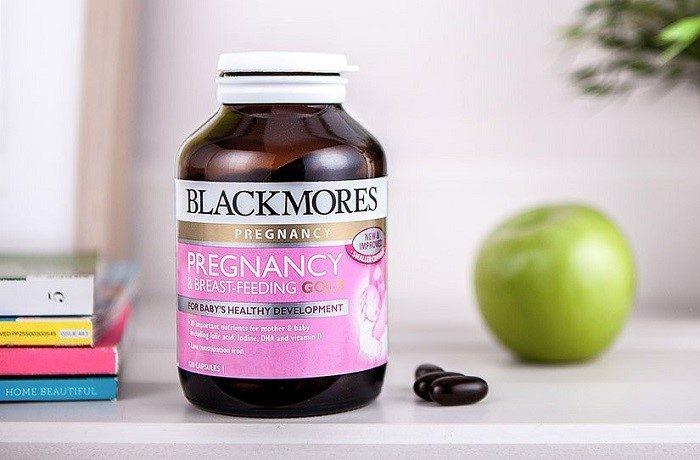Vitamin tổng hợp cho bà bầu Blackmores Pregnancy & Breast - Feeding