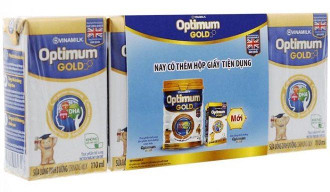 Sữa Optimum Gold Của Vinamilk Cho Bé Yêu