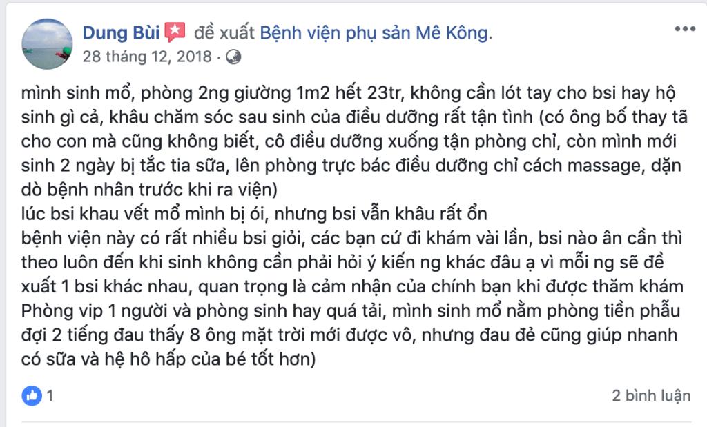 Kinh Nghiem Sinh Tai Benh Vien Mekong