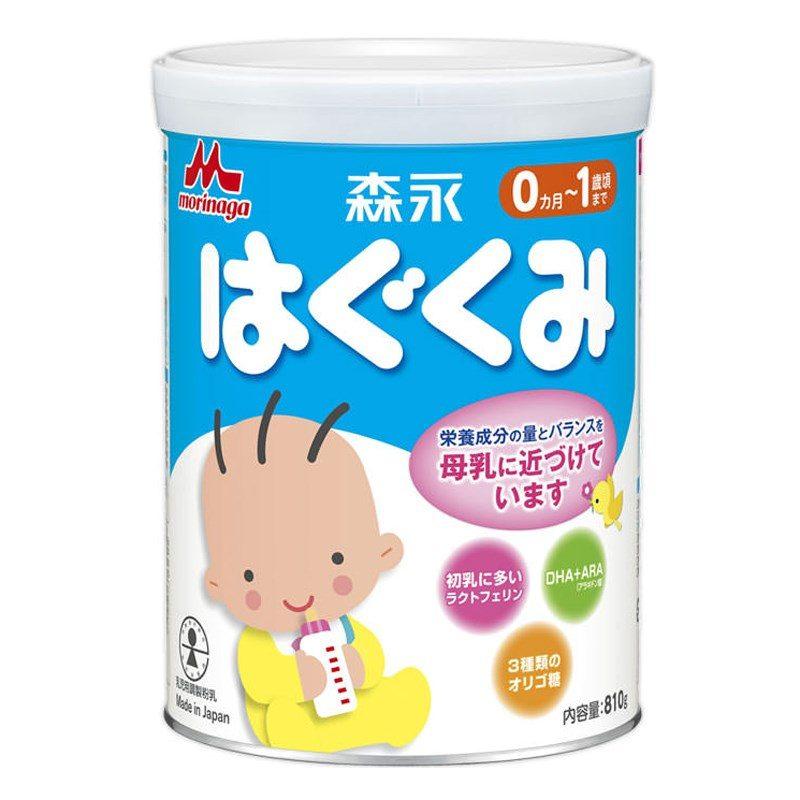 Sữa bột Morinaga số 0 hộp thiếc 850g có giá bán từ 475.000 đồng