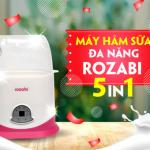 Review: Máy hâm sữa Rozabi có tốt không, của nước nào, giá bao nhiêu ?