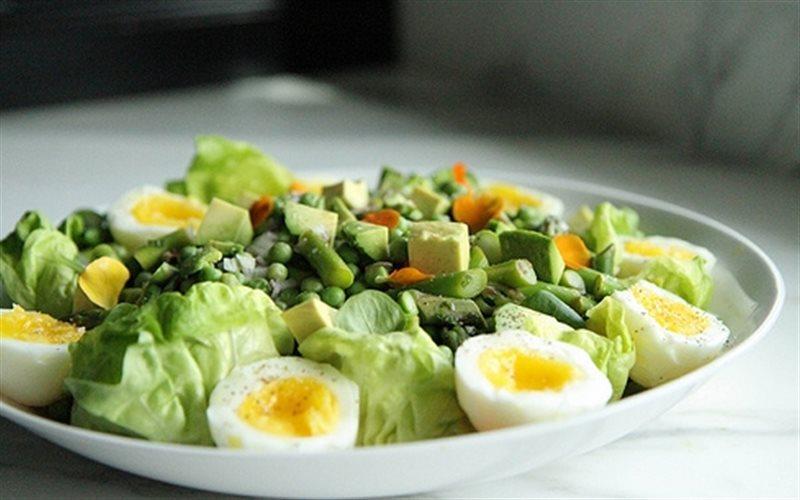 Kết quả hình ảnh cho salad đậu hà lan