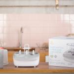 Review máy tiệt trùng+ sấy khô bình sữa + hâm sữa đa chức năng 3in1 của Moaz Bébé