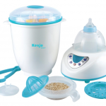 Máy tiệt trùng, hâm nóng và sấy khô bình sữa Kenjo KJ09N của Nhật Bản
