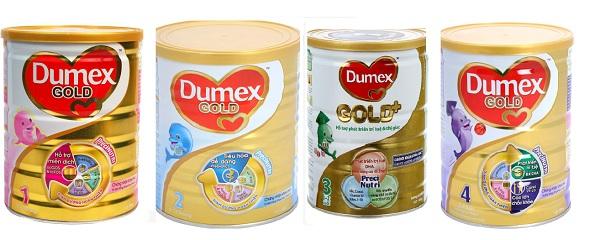 Sữa Dumex giúp bé tăng cân và phát triển tốt