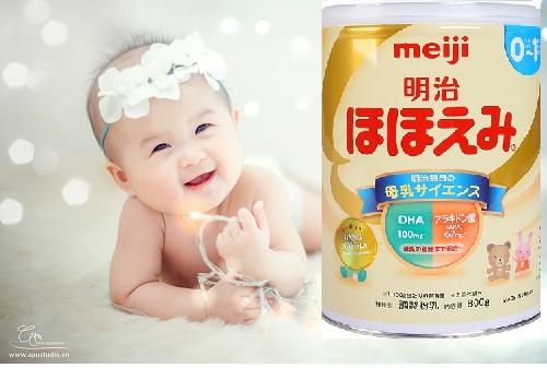 Sữa Meiji là loại sữa mát nhất cho bé
