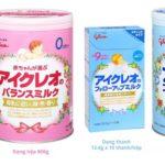 Review sữa công thức glico dành cho trẻ từ 0-3 tuổi của nhật