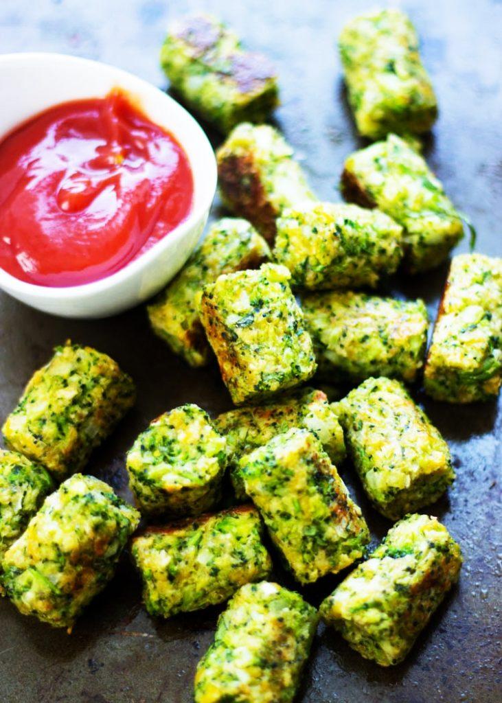 Bánh phô mai bông cải xanh