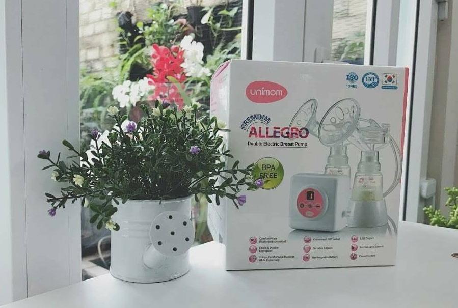 Máy hút sữa điện đôi Unimom Premium Allegro