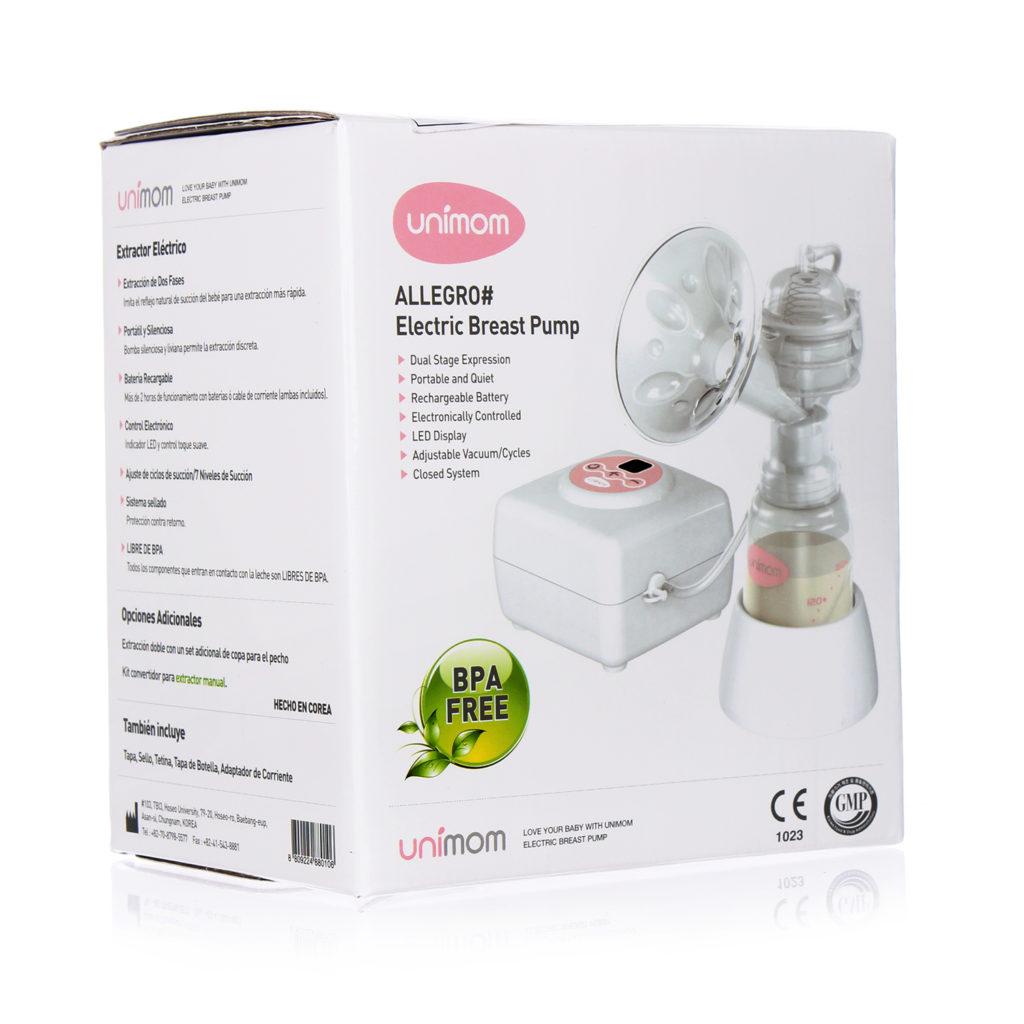 Máy hút sữa điện đơn Unimom Allegro