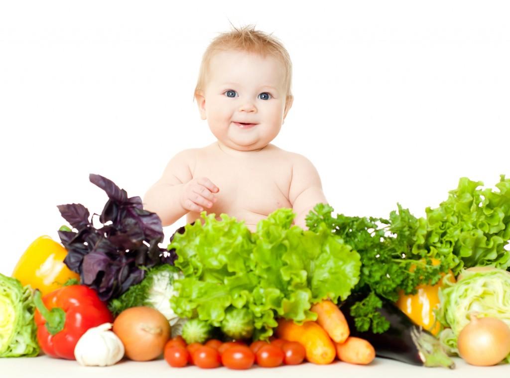 Tầm quan trọng của rau đối với trẻ