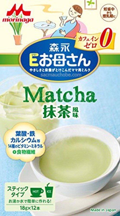 Sữa bầu Morinaga trà xanh matcha