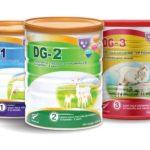 Review Sữa dê DG Lựa Chợn Tốt Dành Cho Bé