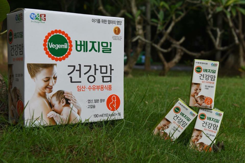 Thành phần dinh dưỡng Sữa bầu vegemil