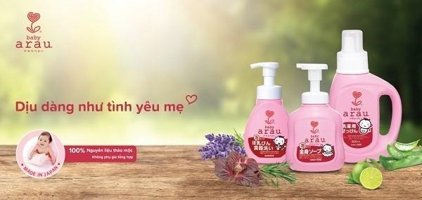 [Review] Đánh giá chi tiết sữa tắm Arau Baby Nhật Bản. Có nên mua không? – Mẹ bầu em bé
