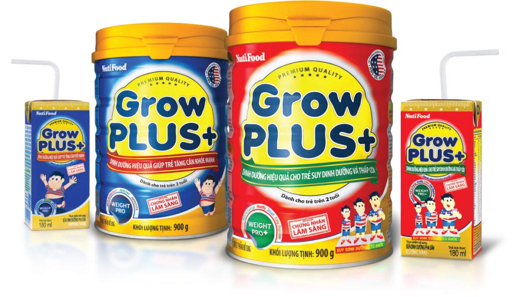 sua grow plus do grow plus xanh nutifood
