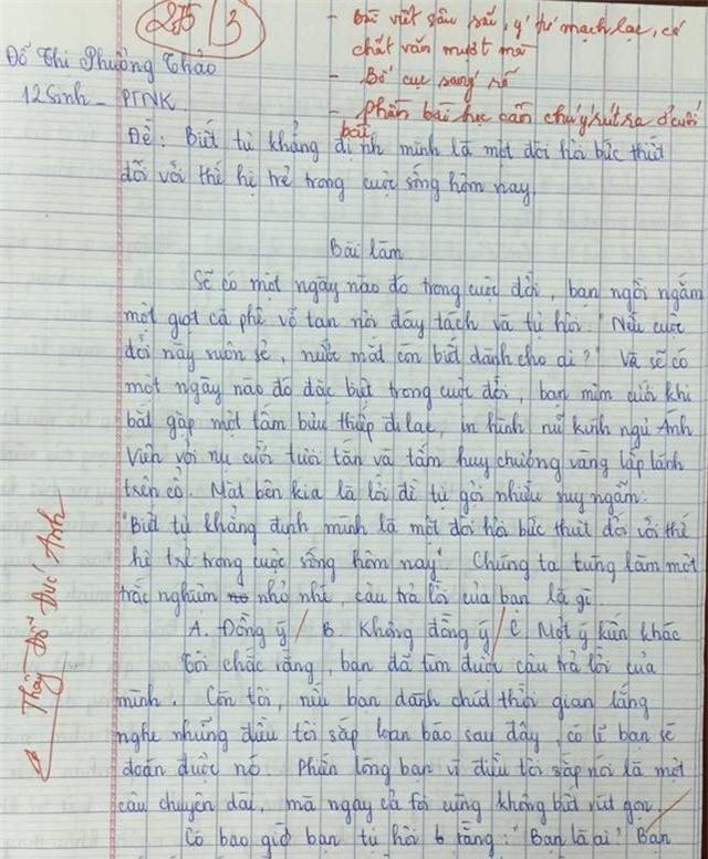 Năng lực viết của trí thông minh ngôn ngữ