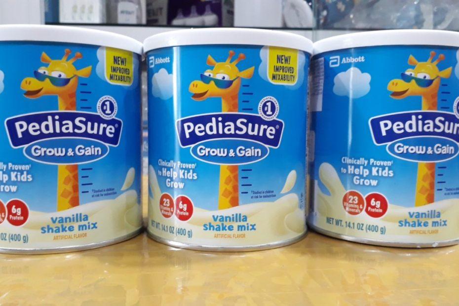 Sữa pediasure hương vani