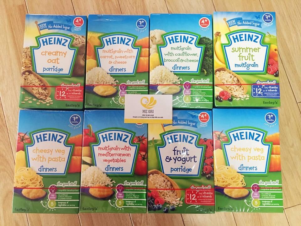 Bột ăn dặm Heinz Anh