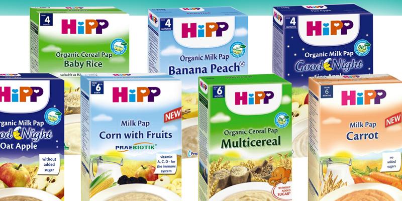 Bột ăn dặm HiPP Đức