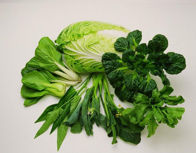 Các loại rau cải rất tốt